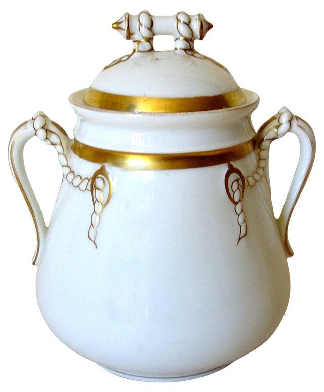 Haviland Limoges Tea Caddy