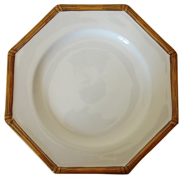 Gucci Hand-Painted Porcelain Plate