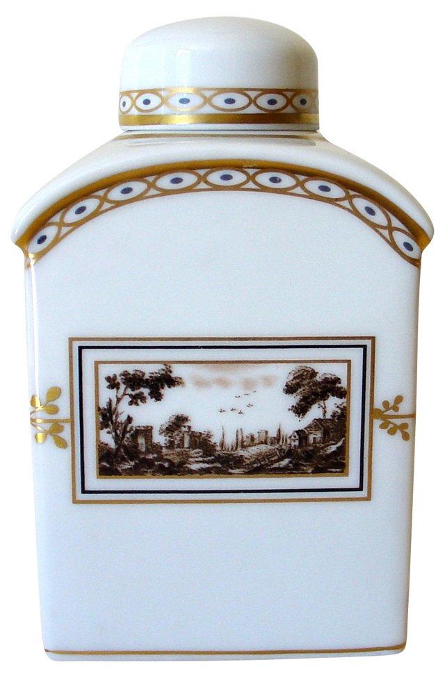 Richard Ginori Fiesole Tea Caddy