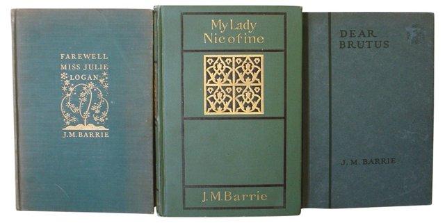 J.M Barrie Books, S/3