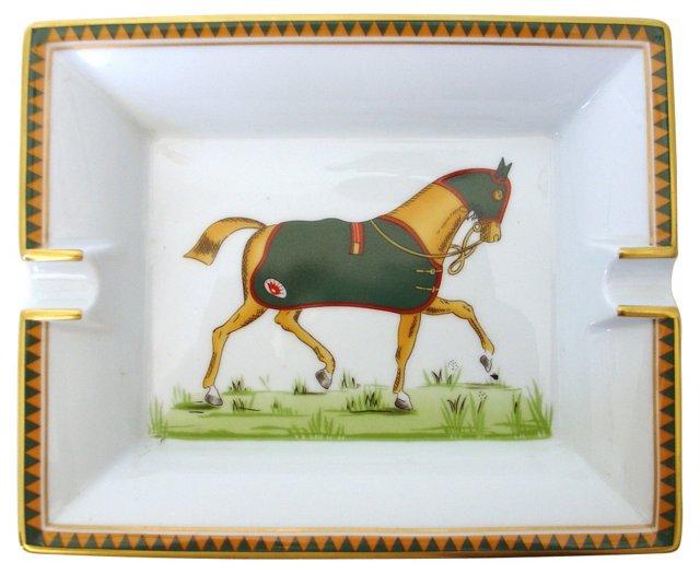 Hermès Equestrian Cigar Ashtray