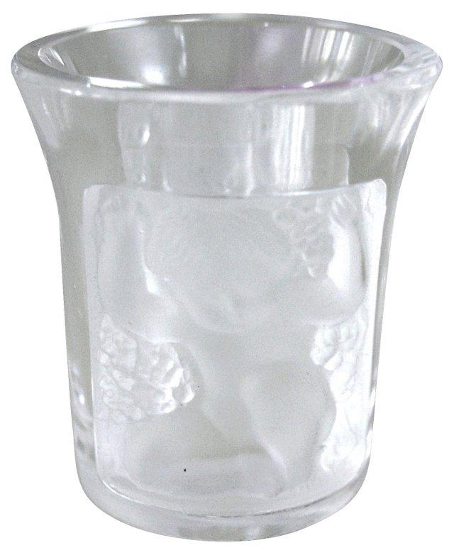 Lalique Enfants Shot Glass
