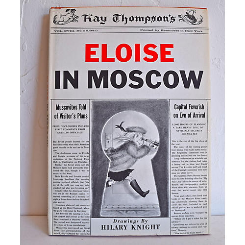 Eloise in Moscow, 1st Ed