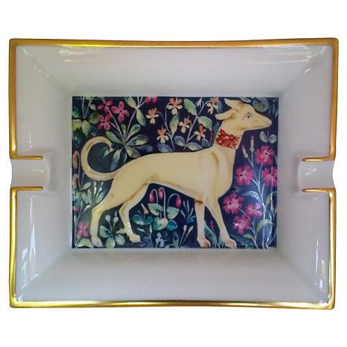 Hermès Majestic Dog Ashtray