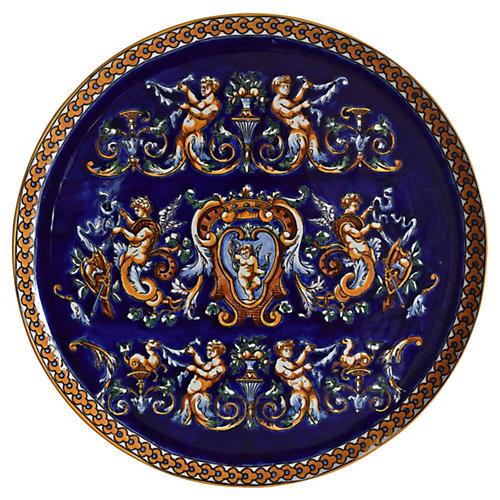 Gien France Large Renaissance Platter