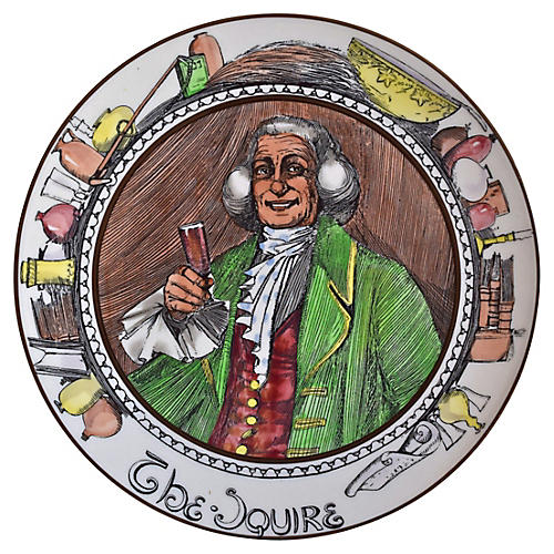 Royal Doulton The Squire Plate