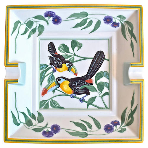 Hermès France Toucan Cigar Ashtray w/Box