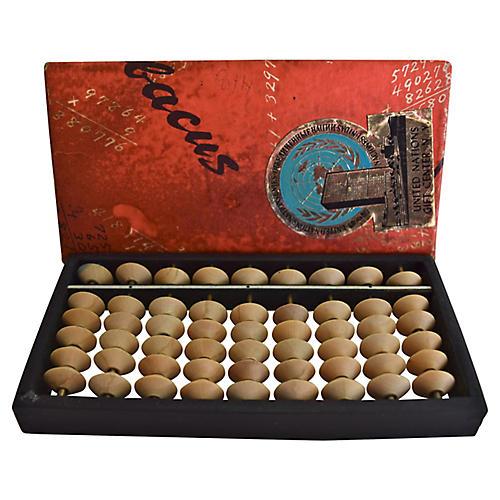 Midcentury Japanese Abacus