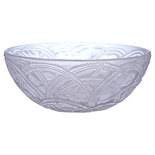 Lalique Crystal Pinsons Bowl