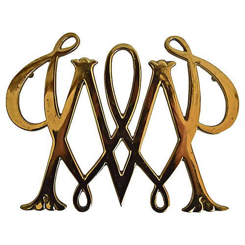 Brass Williamsburg Trivet