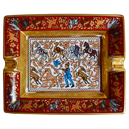 Hermès Chasse en Inde Cigar Ashtray