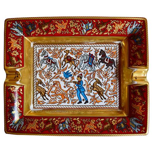 Hermès Chasse en Inde Cigar Ashtray