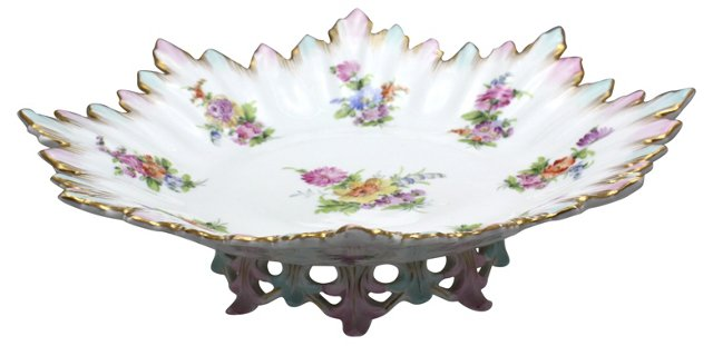 Bavarian Hand-Painted Serving Compote