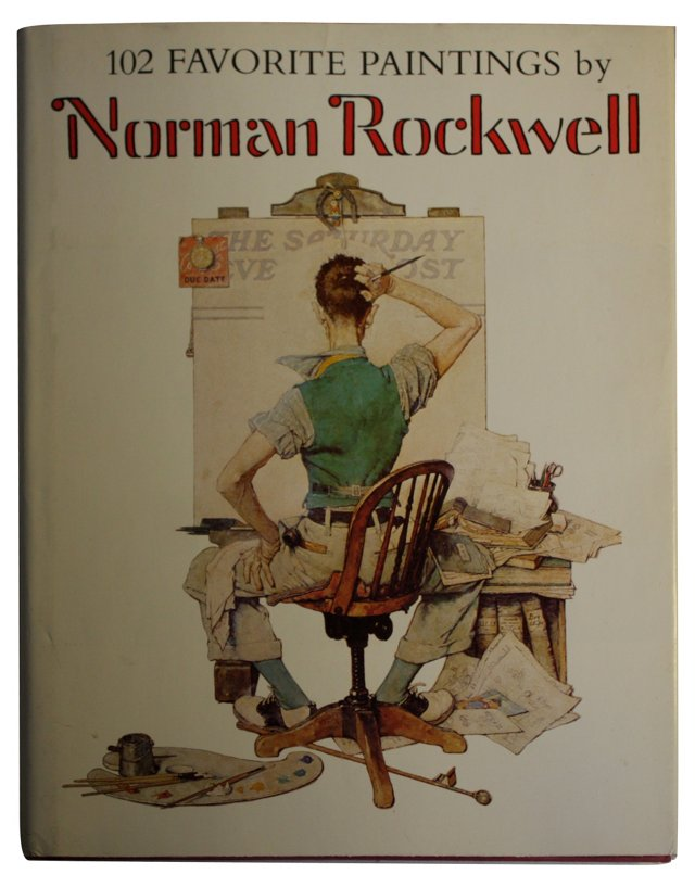 102 Paintings by Norman Rockwell
