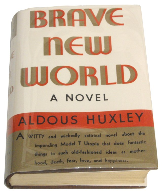 Brave New World, 1st US Ed