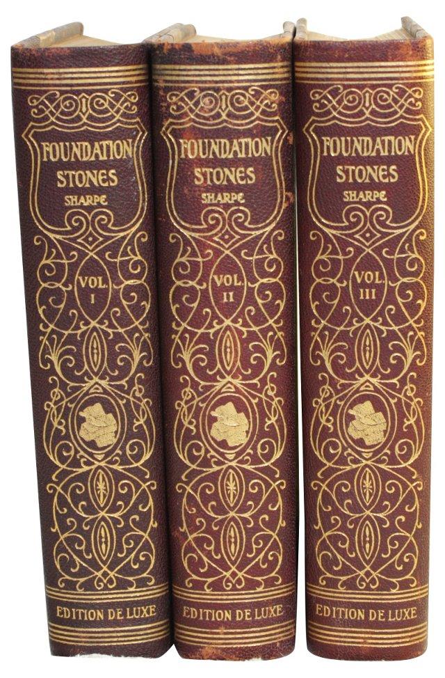 Foundation Stones of Success, 3 Vols