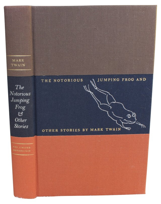 The Notorious Jumping Frog, Signed