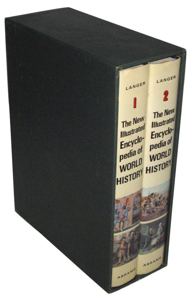 Encyclopedia of World History, 2 Vols