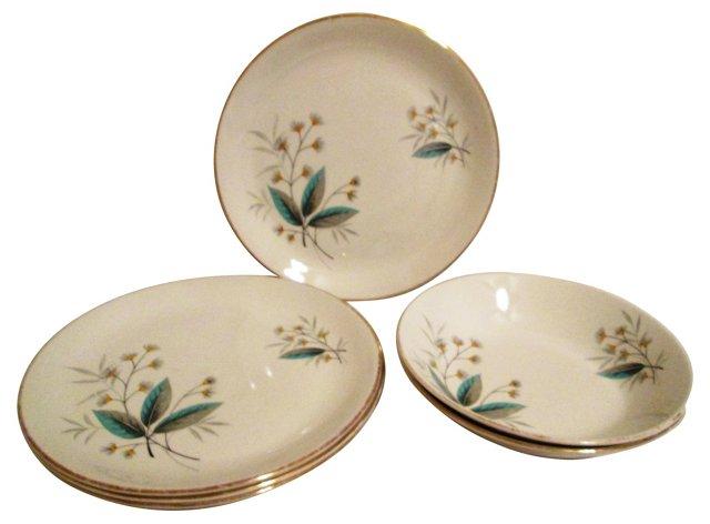 1950s English Swinnerton's Dishes, S/6