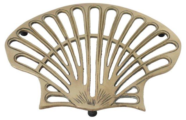 Brass Shell Trivet