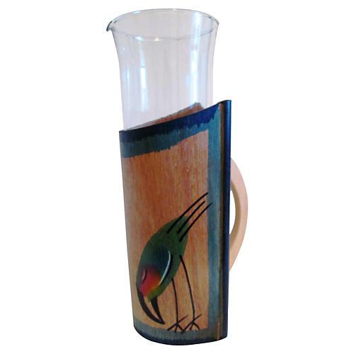 Toucan Bird Cocktail Carafe, 2-Pcs