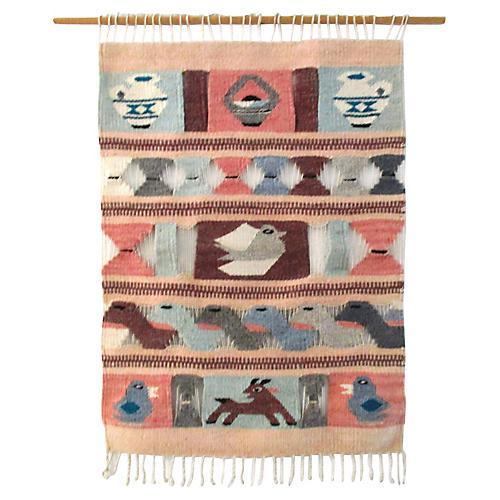 Southwestern Wool Wall Tapestry