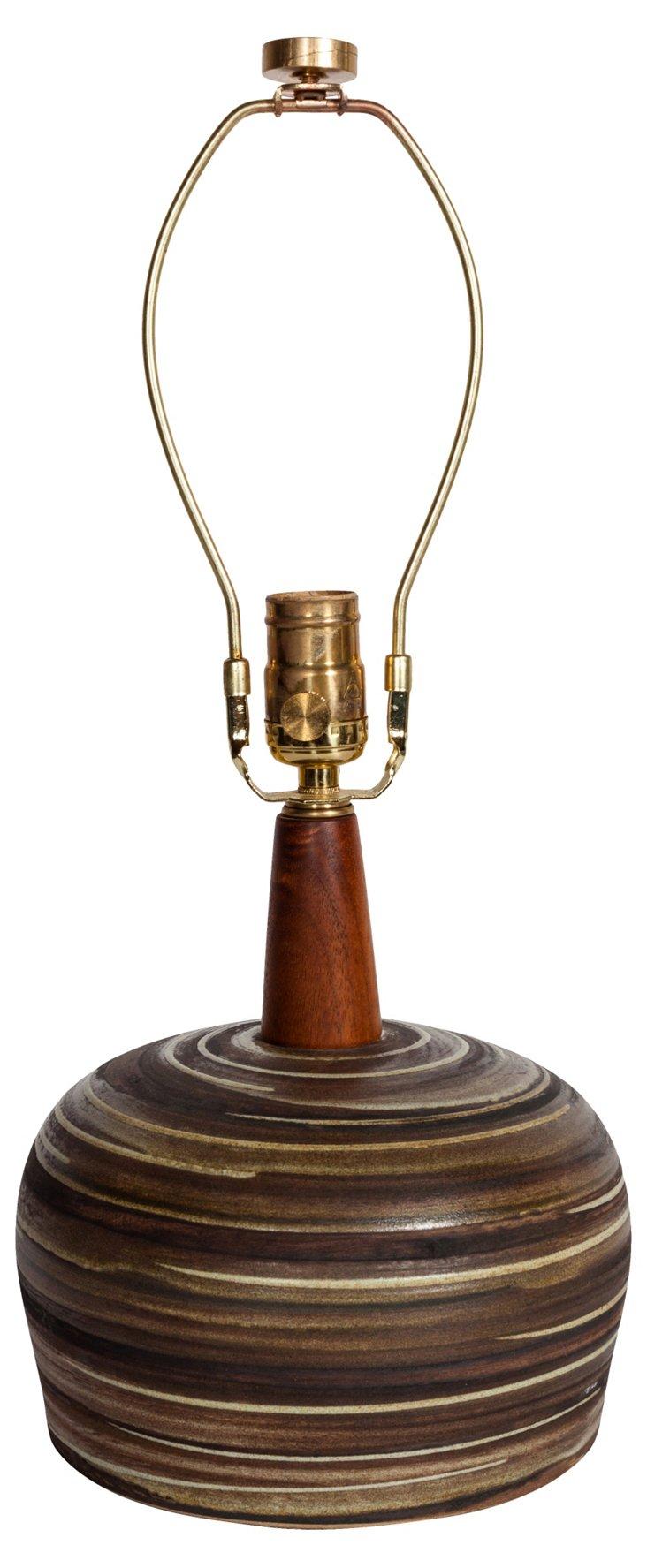 Ceramic Martz Lamp