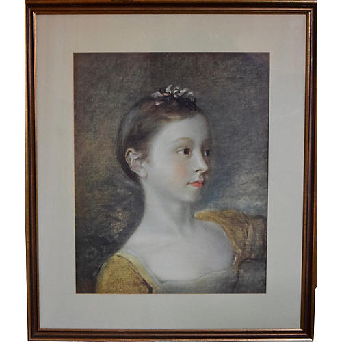 Portrait of a French Lady
