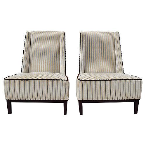 Thayer Coggin Nolita Armless Chairs