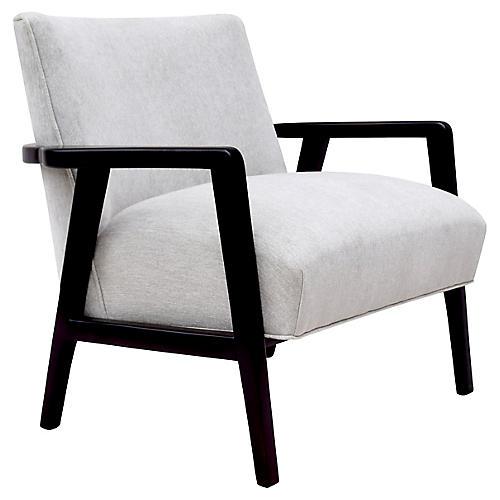 Edward Wormley Dunbar Style Lounge Chair