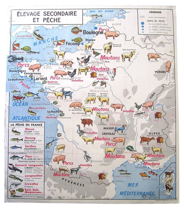 French Food    Map