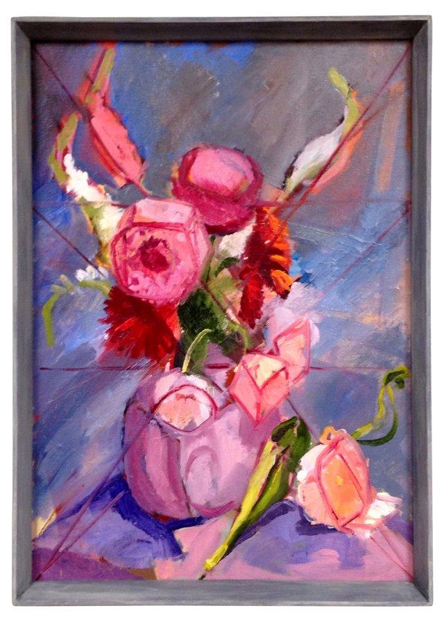 Cubist    Floral    Still   Life