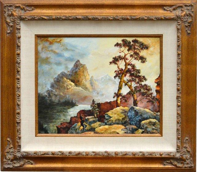 Mountain Scene by S. Faulkner-Lebron