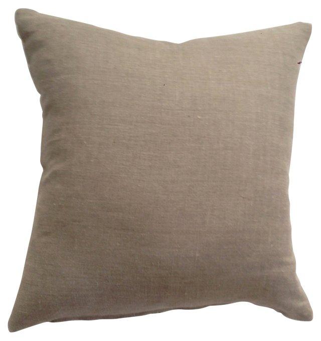 Herringbone Grain Sack Pillow