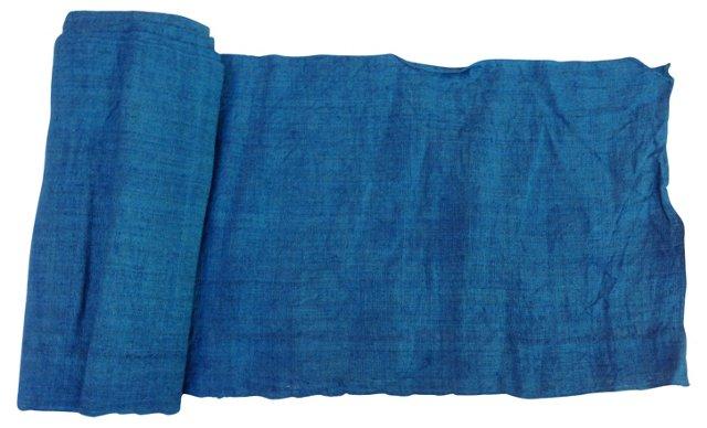 Indigo Textile, 7.8 Yds