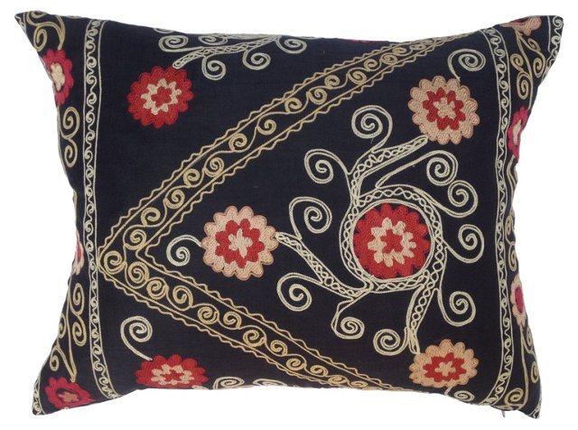 Silk Suzani Pillow