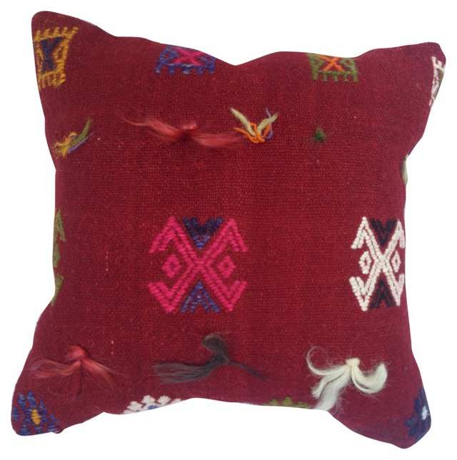 Handwoven Turkish    Kilim Pillow