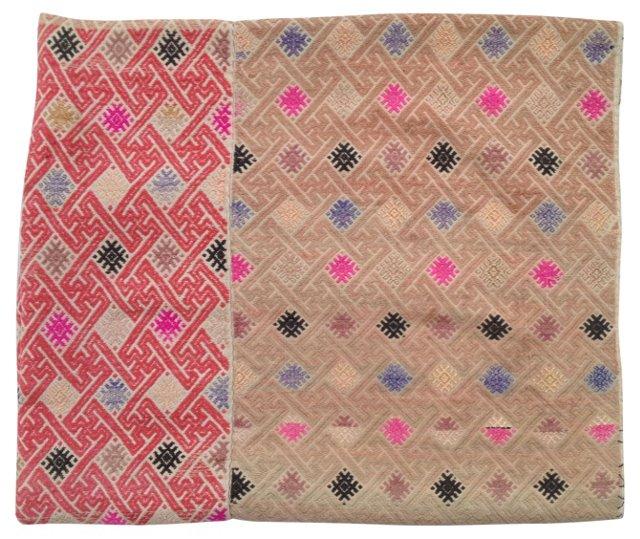 Hmong Multi-Pattern Wedding Quilt