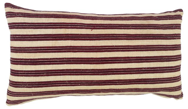 Striped Morrocan Camel Sack Pillow