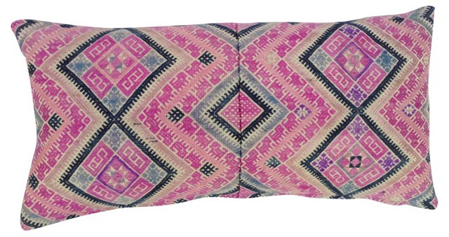 Pink    Wedding Quilt Pillow