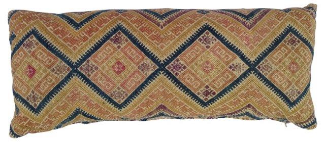Tribal Wedding  Quilt Pillow