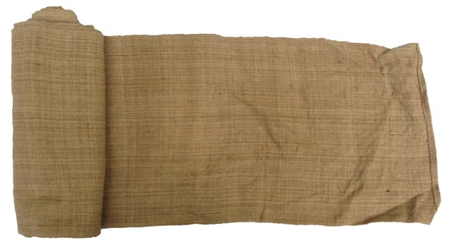 Handwoven Natural Linen, 6 Yds
