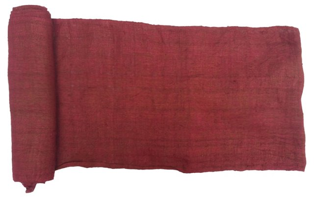 Raspberry Linen, 5 Yds
