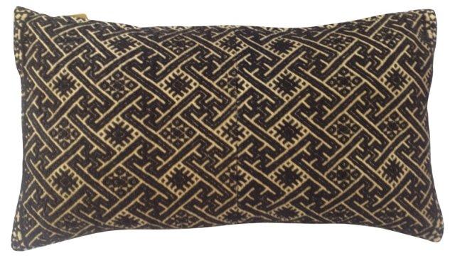 Hmong Quilt Pillow w/ Border