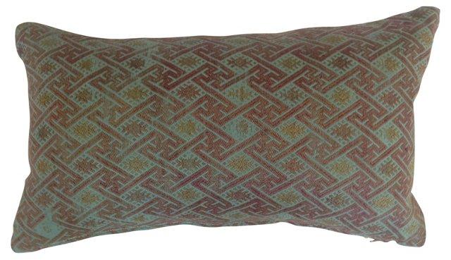 Hmong Overdyed   Quilt Pillow