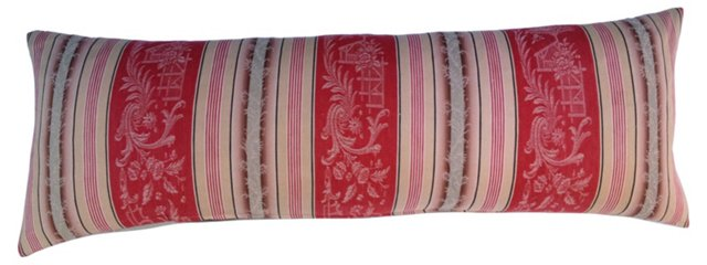 French Mattress Ticking Body Pillow