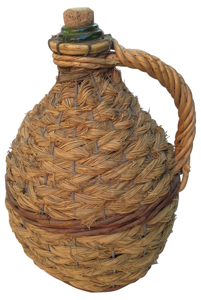 French Rustic Wine Jug