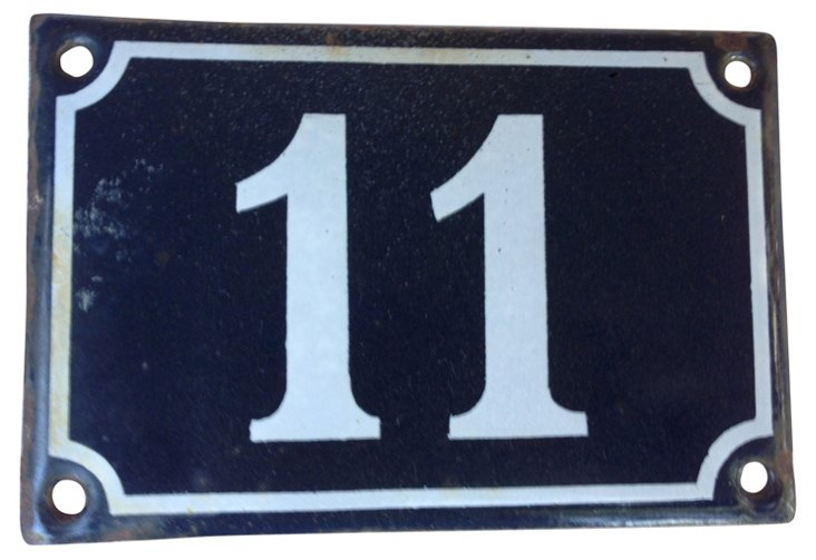 French Street  Sign,    11
