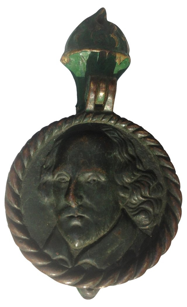 Brass Shakespeare  Door Knocker