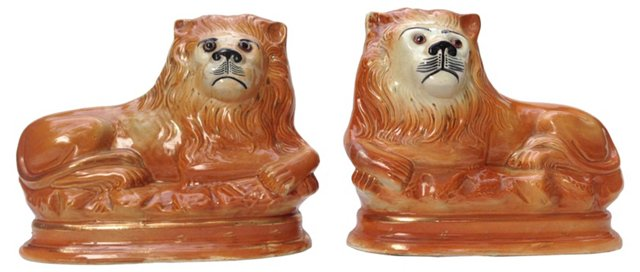 Staffordshire Lions, Pair